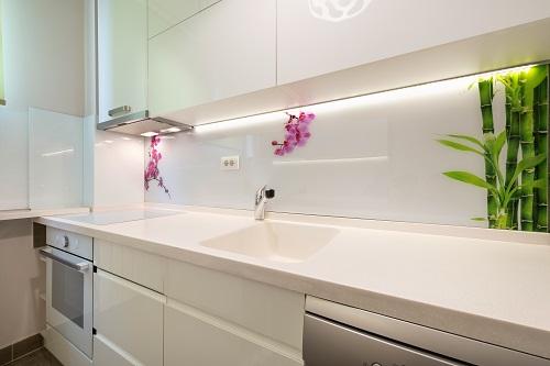 Glasrückwand Küche montieren Berlin